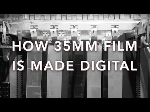 How 35mm Film is Made into Digital Photos
