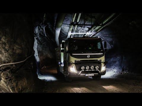 Volvo Trucks - The world's first self-driving truck in an underground mine