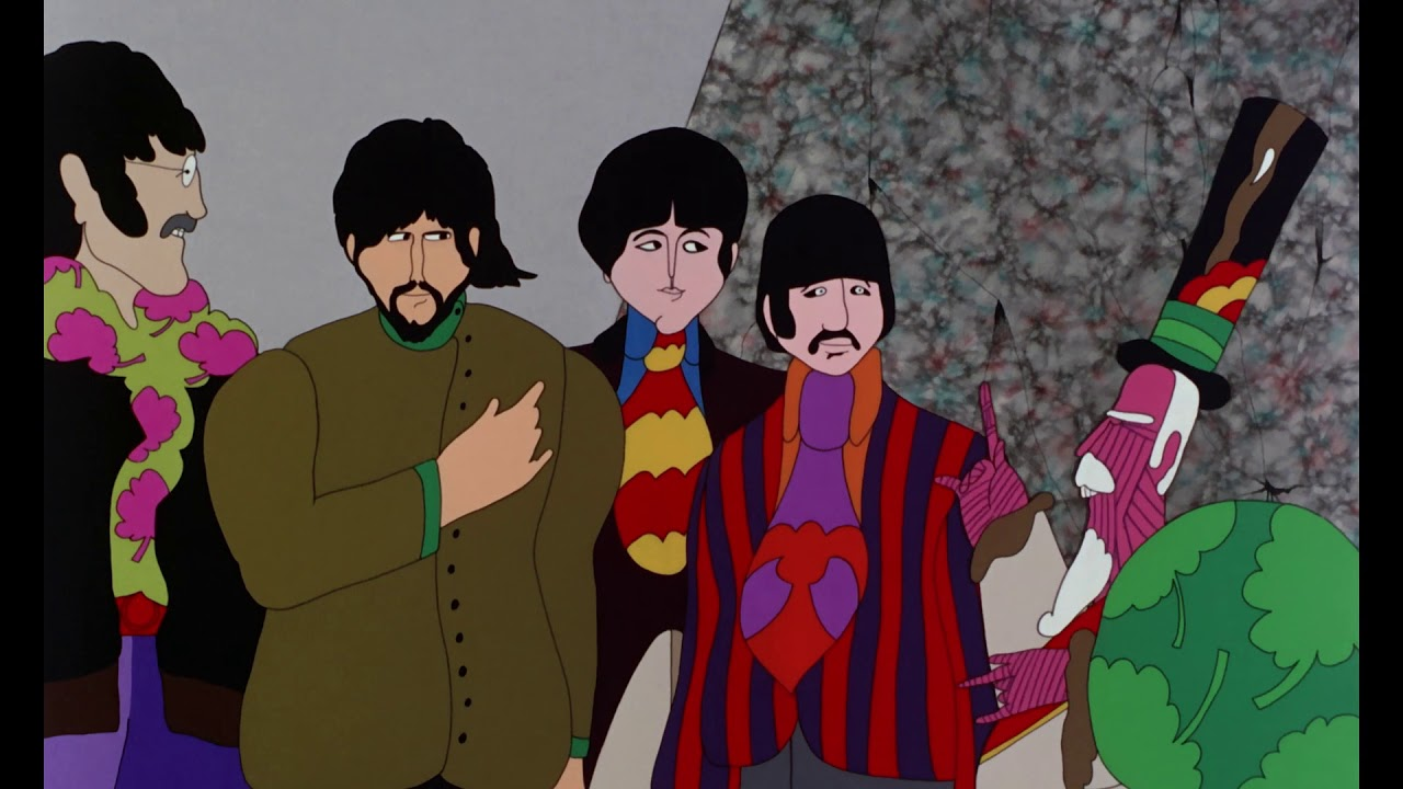 foto de All together now: The Beatles' 'Yellow Submarine' animated film ...