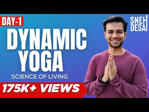 Sneh Desai Dynamic Yoga Live Seminar and Training – Day 1