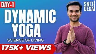 FREE Download Yoga Videos in Hindi | Best Dynamic Yoga Videos DVD Online - Day 1