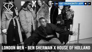 Ben Sherman x House of Holland Capsule Collection Menswear Fall 2018 London | FashionTV | FTV