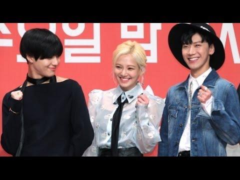 [NO CUT] K-POP 'Hit The Stage' Interview (Press conference, TAEMIN, HYOYEON, TEN)