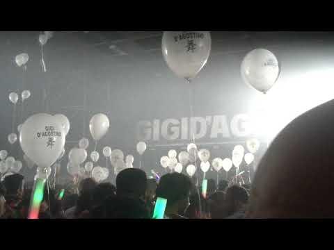 new single -Gigi d'aGostino live 24/4/2018 LINGOTTO FIERE