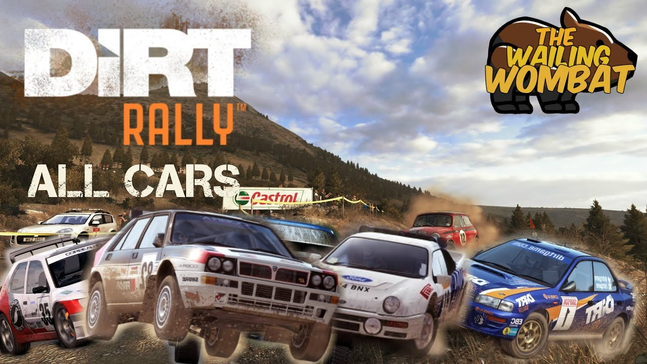 dirt rally car list all cars so far youtube. Black Bedroom Furniture Sets. Home Design Ideas