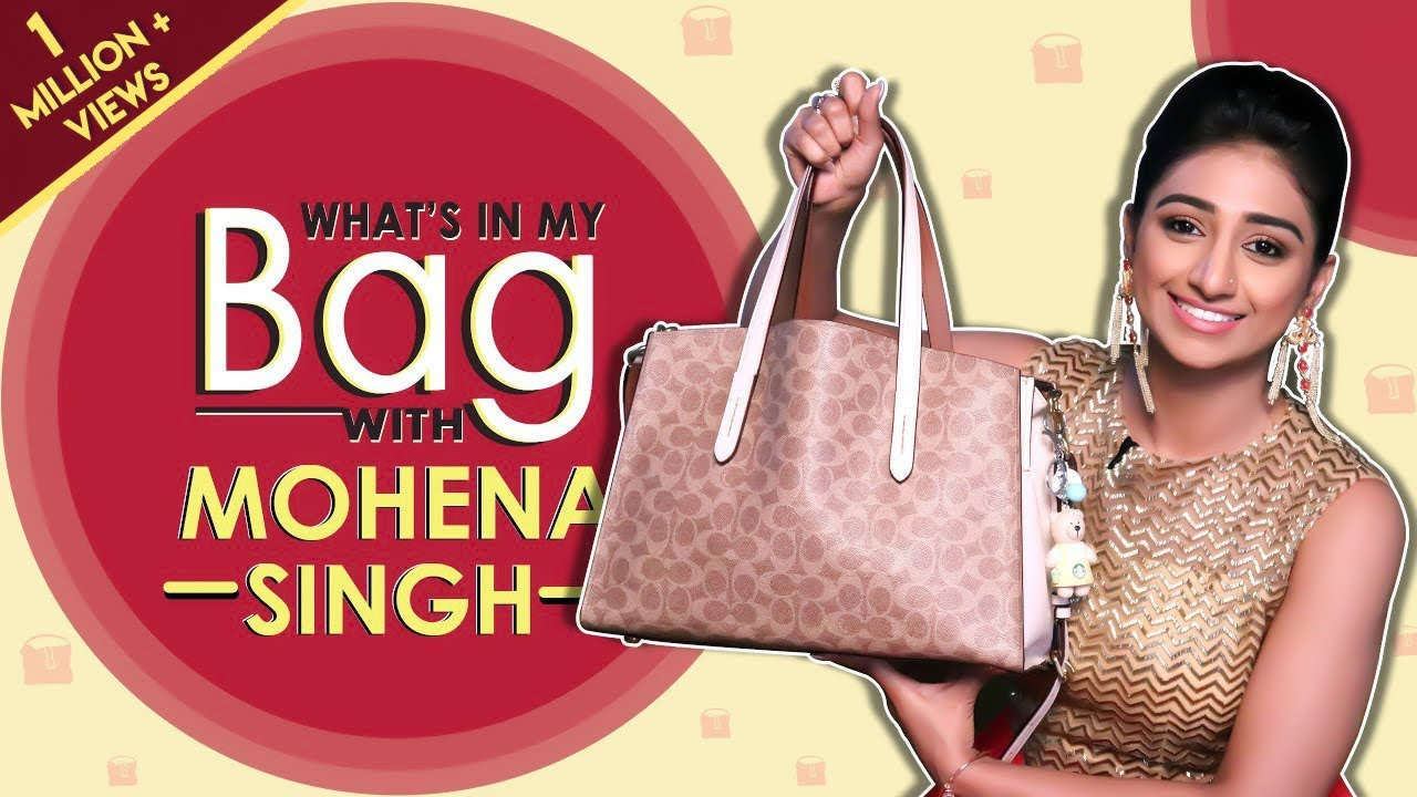 What's In My Bag With Mohena Singh | Bag Secrets Revealed | Exclusive Interview