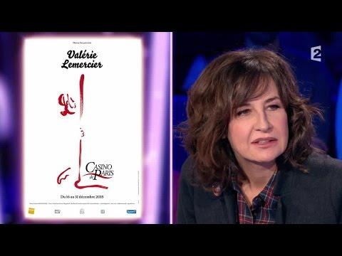 Valérie Lemercier  On n'est pas couché 28 novembre 2015 ONPC
