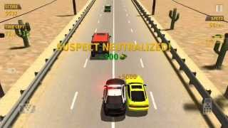 TRAFFIC RACER Police Car. Police Chase