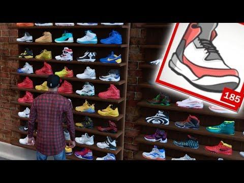 Buying Every Single Shoe From Footlocker In NBA 2K18! *600K VC*