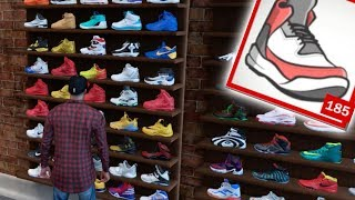Buying Every Single Shoe From Footlocker In NBA 2K18! *600K VC*