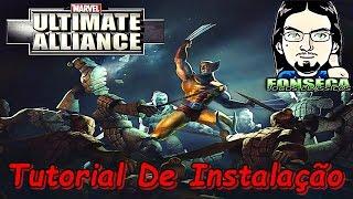 Como instalar Marvel - Ultimate Alliance + Tradução 2016