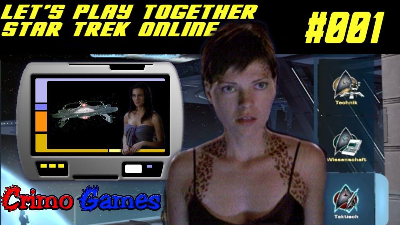 Let's Play together: Star Trek Online #1 - Trill-Flecken