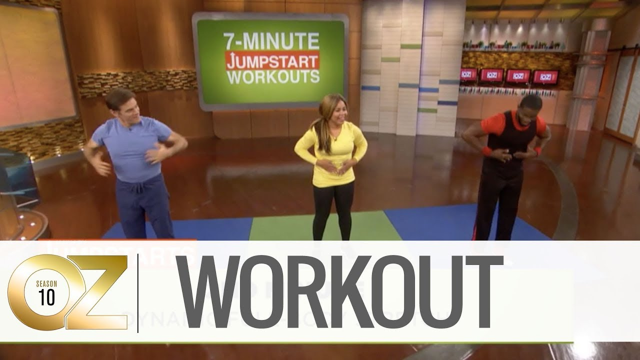 photo about Dr Oz 7 Minute Workout Printable referred to as The 7-Moment HIIT Exercise session