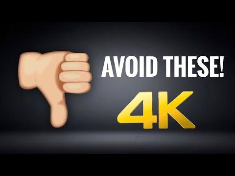 MY LEAST FAVORITE 4K BLU-RAYS | Avoid These 4K Blu-rays