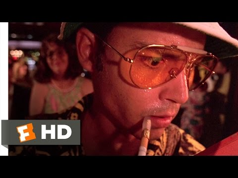 Fear and Loathing in Las Vegas 310 Movie CLIP  The Hotel on Acid 1998 HD