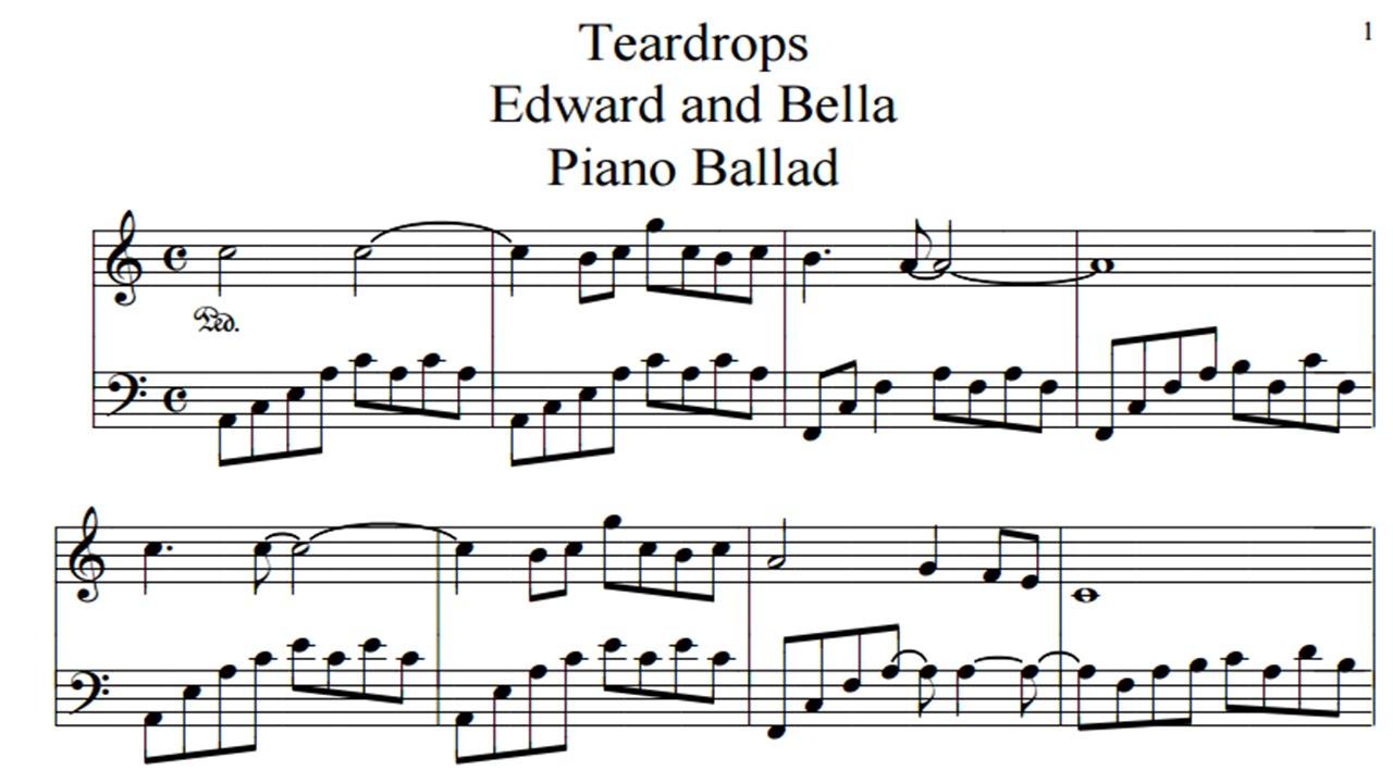 Chords teardrops