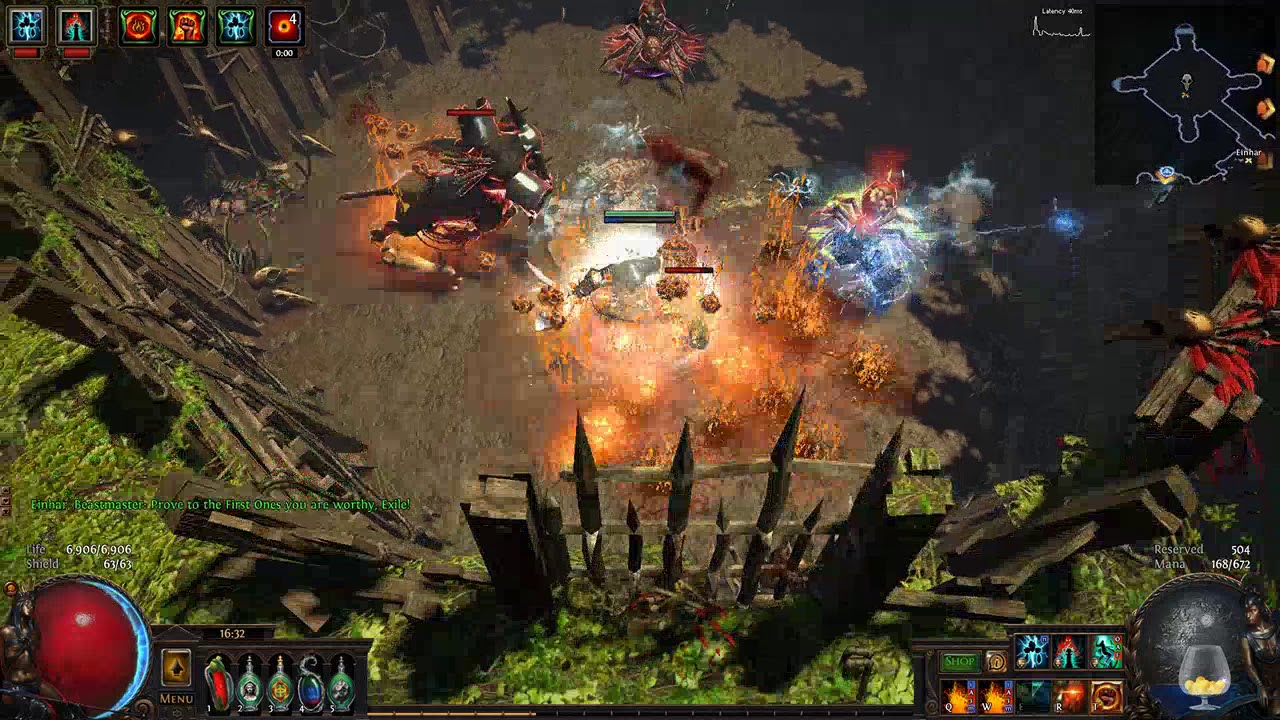 How to use blood altar poe
