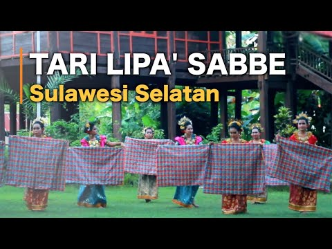 Tari Lipa' Sabbe - Traditional Dance of South Sulawesi