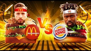 MC DONALDS VS BURGERKING | FOOD WARS