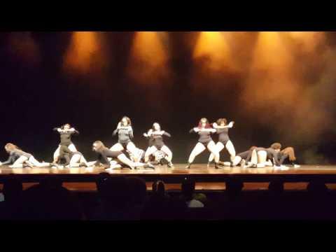 The Hive Dance team performance 2016 Halloween showcase