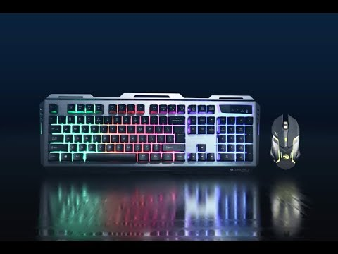transformer premium gaming keyboard and mouse combo zebronics youtube. Black Bedroom Furniture Sets. Home Design Ideas