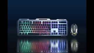 Transformer - Premium Gaming Keyboard and Mouse combo   Zebronics