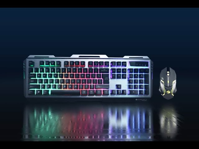 Transformer - Premium Gaming Keyboard and Mouse combo | Zebronics