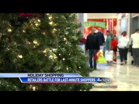 So... I was on ABC's World News - Holiday Shopping Mayhem
