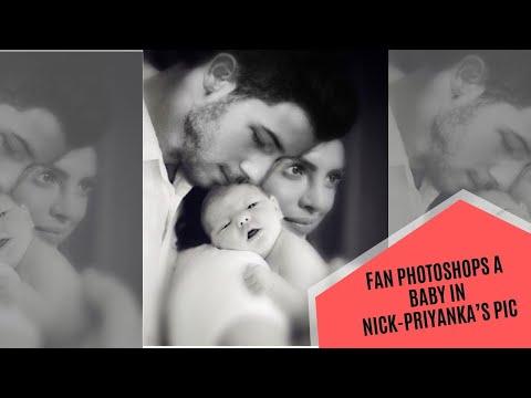 Fan Photoshops A Baby In Priyanka Chopra And Nick Jonas' Pic | SpotboyE