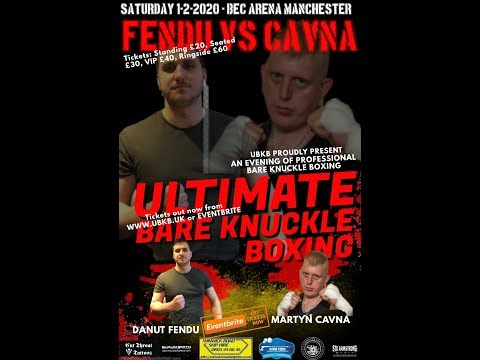 Martyn Cavna Vs Fendu Danut   Ultimate Bare Knuckle Boxing