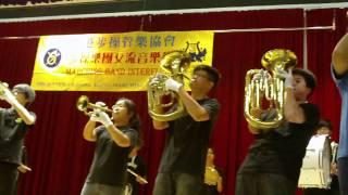 HKMBA2011步操樂團交流音樂會~佛教覺光法師中學步操樂