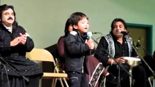 Repeat youtube video Arif Lohar Son & ALAM LOHAR Grandson  First performance - Live.flv