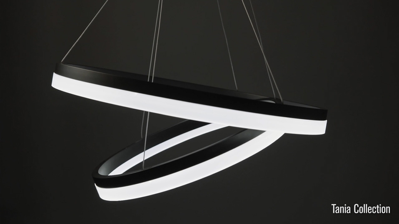 vonn tania collection led lighting fixtures youtube