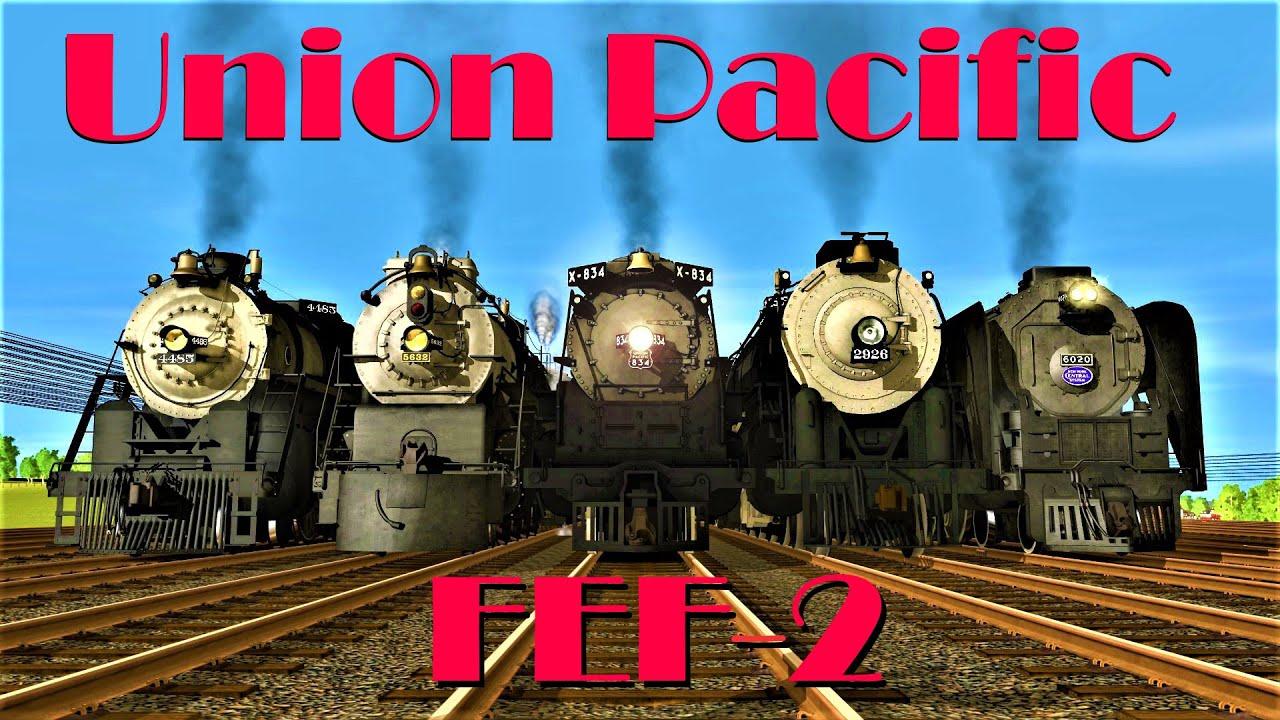 [Trainz Race] Union Pacific FEF-2 Vs. ATSF 2900s, SP GS-8, NYC Niagara, CB&Q O5b