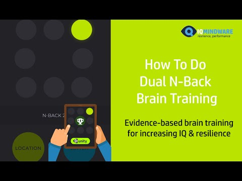 Dual N-Back Tutorial : Brain Training to Increase IQ