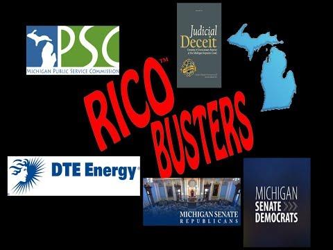 RICO Busters #22 - Detroit Thomas Edison (DTE) domestic terrorists (1 hr. 58 min.)
