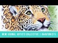Animal Artists Collective: Tropical Rainforests | Jaguar Portrait