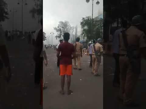Aurangabad riots: khasdar Chandrakant khaire supports rioter and police to make violence