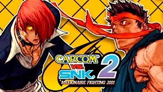 PARA ALGUNS, ESTE GAME AINDA REINA SUPREMO! – Capcom vs SNK 2