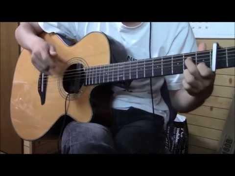 Guitar Solo Tsukiakari no Michishirube  Arrange TabAvailable ソロギター ツキアカリのミチシルベ (流星の双子 OP) アレンジ
