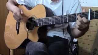 Guitar Solo Tsukiakari No Michishirube Arrange TabAvailable ソロギター ツキアカリのミチシルベ 流星の双子 OP アレンジ