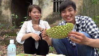 Cảm Giác Lần Đầu Ăn Sầu Riêng II San Vlog