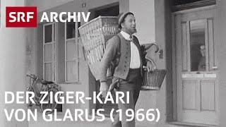 Glarner Ziger (1966) | Die Schweizer Käsespezialität - man liebt sie oder nicht | SRF Archiv