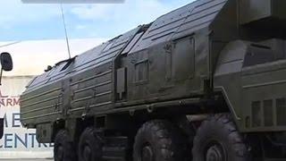 Выставка новейших образцов вооружения и военной техники