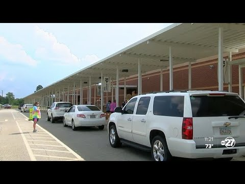 Thomas County Middle Schools hosts distribution for food insecure