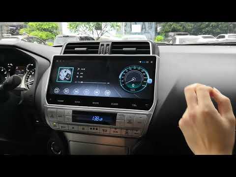 Android Car Stereo Radio DVD GPS Navigation Head Unit Sat Nav Infotainment Toyota Prado 2018 2019