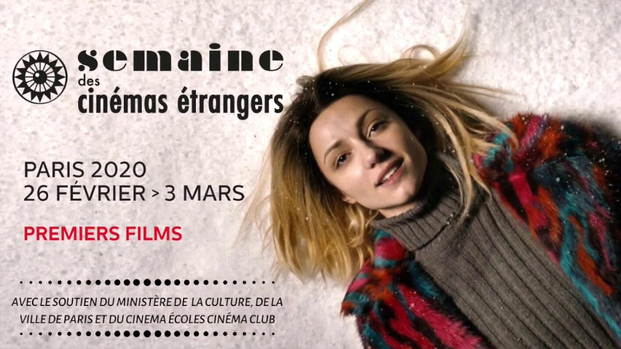 Semaine des cinémas étrangers 2020 - Premiers films