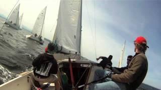 Team Zoe NOOD Thunderbird Sailing Friday