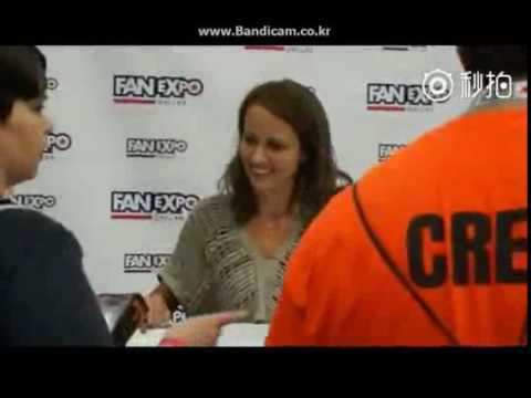 Amy Acker Fan Expo convention