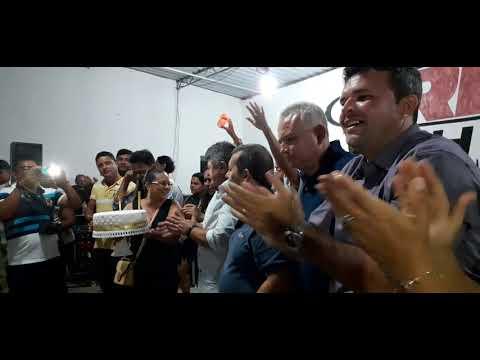 Em Gurinhém: Ex-prefeito Tarcísio, comemorou aniversário com a população. Confira!